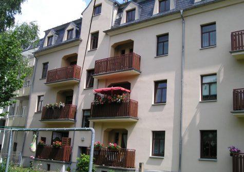 4-Raum-Wohnung unter dem Dach