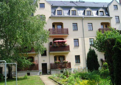 Bezugsfertige 3-Raum-Wohnung mit Balkon