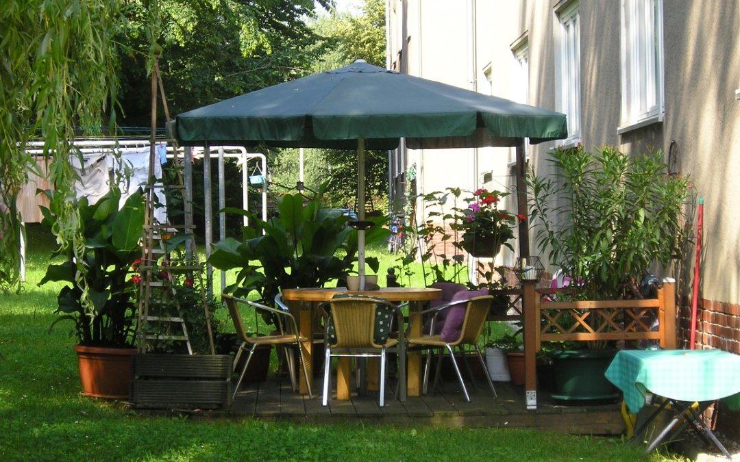 Helle 3-Raum-Wohnung im Grünen