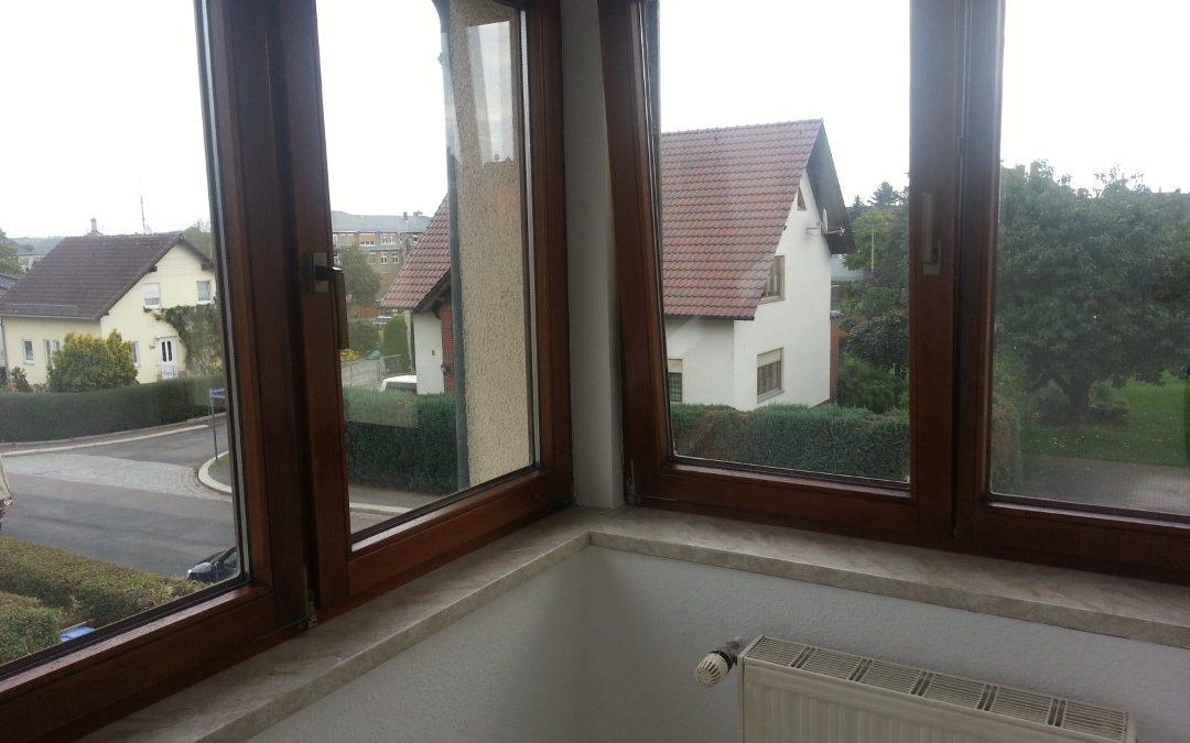 3-Raum-Wohnung, verglaste Veranda